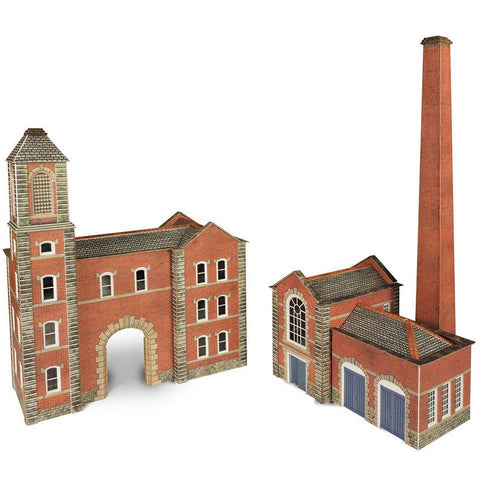 METCALFE Boilerhouse & Factory Entrance N Scale
