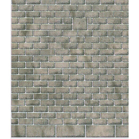 METCALFE Style Stone (8 Sheets) N Scale