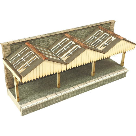 METCALFE Wall Backed Platform Canopy N Scale