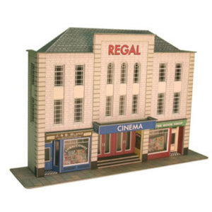 METCALFE Cinema & Shops HO Scale