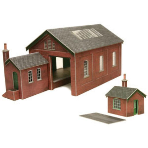METCALFE Goods Shed HO Scale