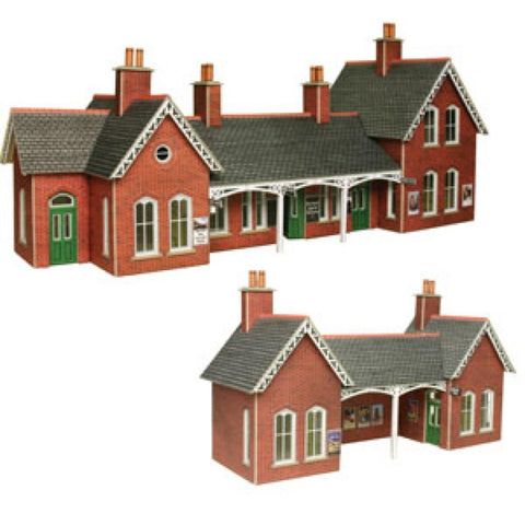 METCALFE Country Station HO Scale