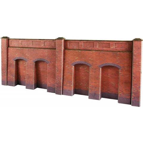 METCALFE Retaining Brick Wall HO Scale