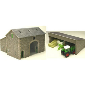 METCALFE Manor Farm Barn HO Scale