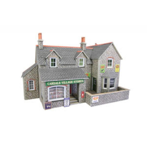 METCALFE Village Shop & Cafe HO Scale