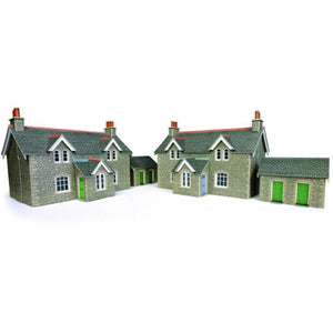 METCALFE Workers Cottage HO Scale