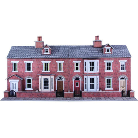 METCALFE RED BRICK HOUSE FRONTS - Hearns Hobbies Melbourne - METCALFE
