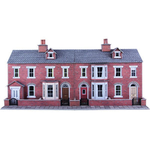 METCALFE RED BRICK HOUSE FRONTS