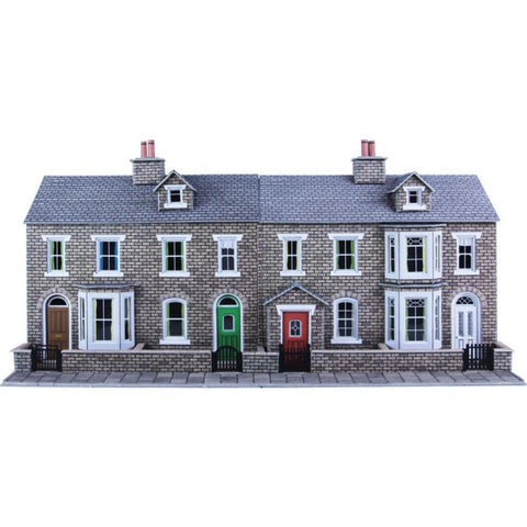METCALFE Stone House Fronts HO Scale