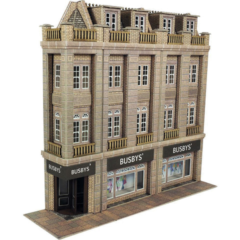 METCALFE Low Relief Departmental Store HO Scale