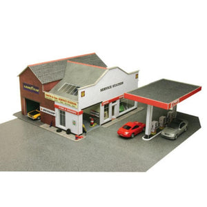 METCALFE Service Station HO Scale