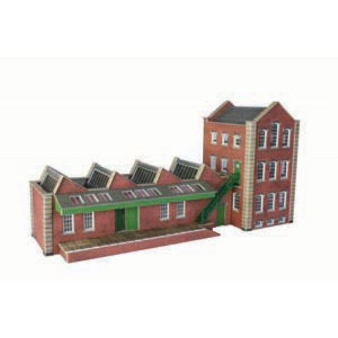 METCALFE Small Factory HO Scale