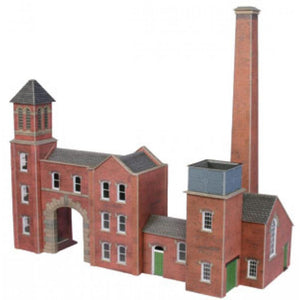 METCALFE Boiler House & Factory Entrance HO Scale