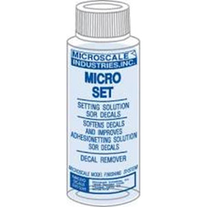 Micro Set Solution - 1 oz. bottle (Decal Setting Solution/R