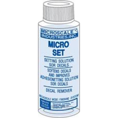 Micro Set Solution - 1 oz. bottle (Decal Setting Solution/Remover (MI-1 )