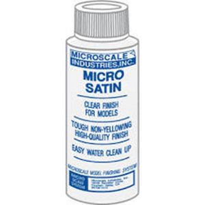 Micro Coat Satin - 1 oz. bottle (Clear Satin finish)  (MI-5)