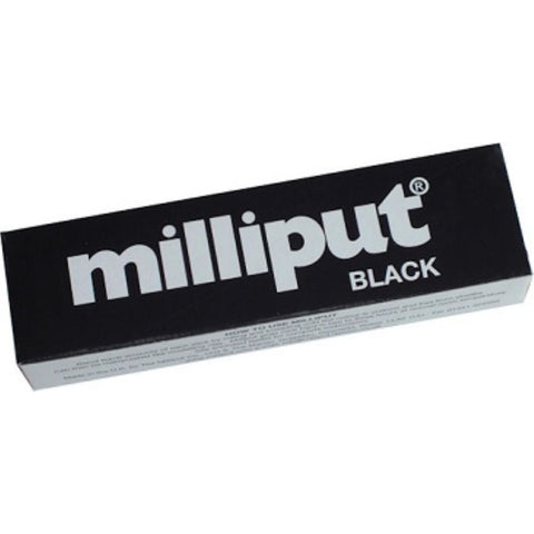 MILLIPUT BLACK 2-PART EPOXY PUTTY - Hearns Hobbies Melbourne - MILLIPUT