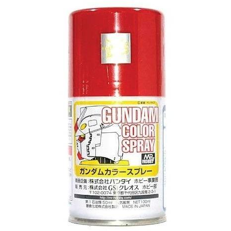 Image of MR HOBBY Gundam Color Spray - Red - SG04