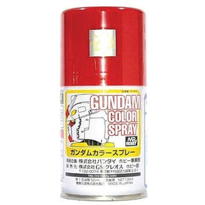 MR HOBBY Gundam Color Spray - Red - SG04