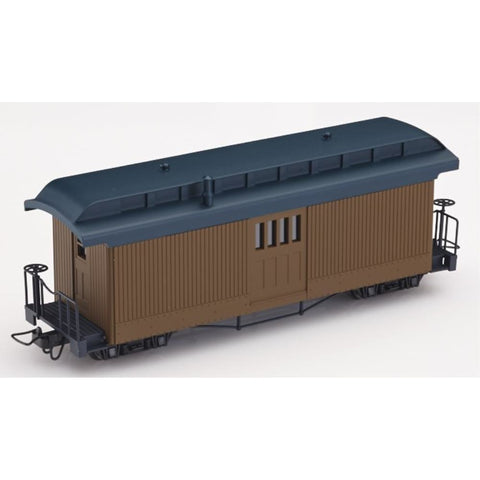MINITRAINS F&C Mail Coach - Brown (Unlettered)