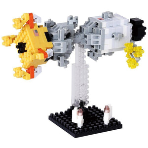 NANO BLOCKS Lunar Landing