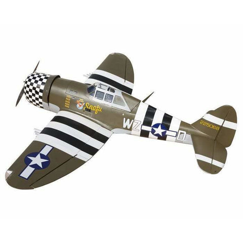 Image of SEAGULL MODELS P47 Thunderbolt RC Plane, 10cc ARF