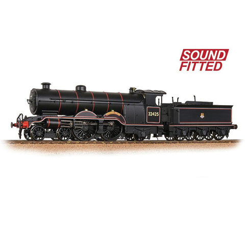 BRANCHLINE OO LB&SCR H2 Atlantic 32425 'Trevose Head' BR Lined Black (Early Emblem) (Sound Fitted)