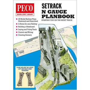 PECO Setrack Planbook N Scale (P-IN1)