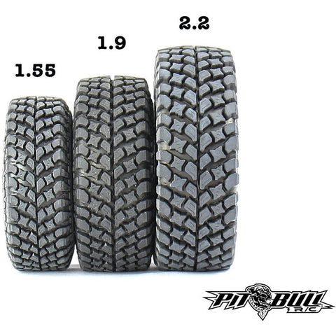 Image of PIT BULL 1.9 Growler AT/Extra R/C Scale Tires 2pcs