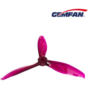 GEMFAN 5149 TRIBLADE CLEAR PURPLE (PMPC5149-3P)
