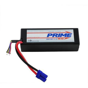 PRIME RC 3S 5000 LiPo Hard case with EC5 connector (50C)