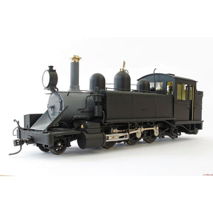 HASKELL NA Class Puffing Billy Locomotive - Black (Early Sm