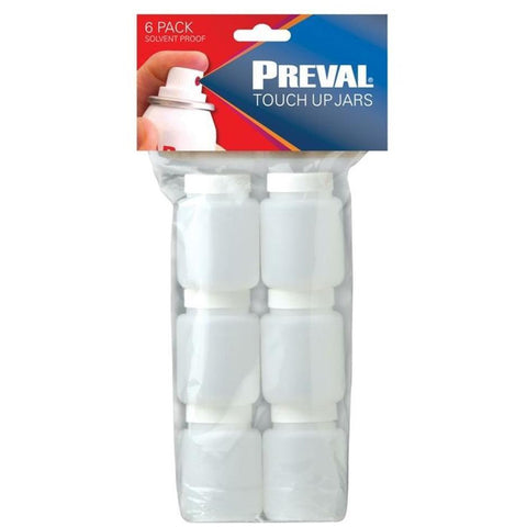 PREVAL Touch Up Jars (6pc) (PR0371)
