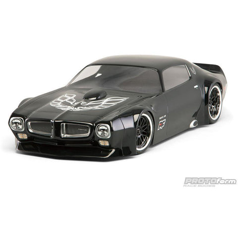 PROTOFORM 1971 Pontiac Firebird Trans Am Clear Body for VTA Class - Hearns Hobbies Melbourne - PROTOFORM - 2
