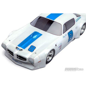 PROTOFORM 1971 Pontiac Firebird Trans Am Clear Body for VTA Class - Hearns Hobbies Melbourne - PROTOFORM - 1