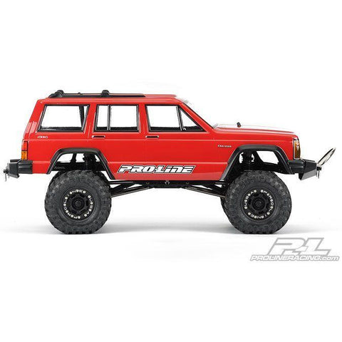Image of PROLINE 1992 Jeep Cherokee Clear body for 1:10 Scale Crawle