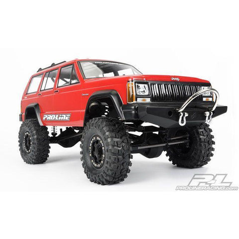 PROLINE 1992 Jeep Cherokee Clear body for 1:10 Scale Crawle