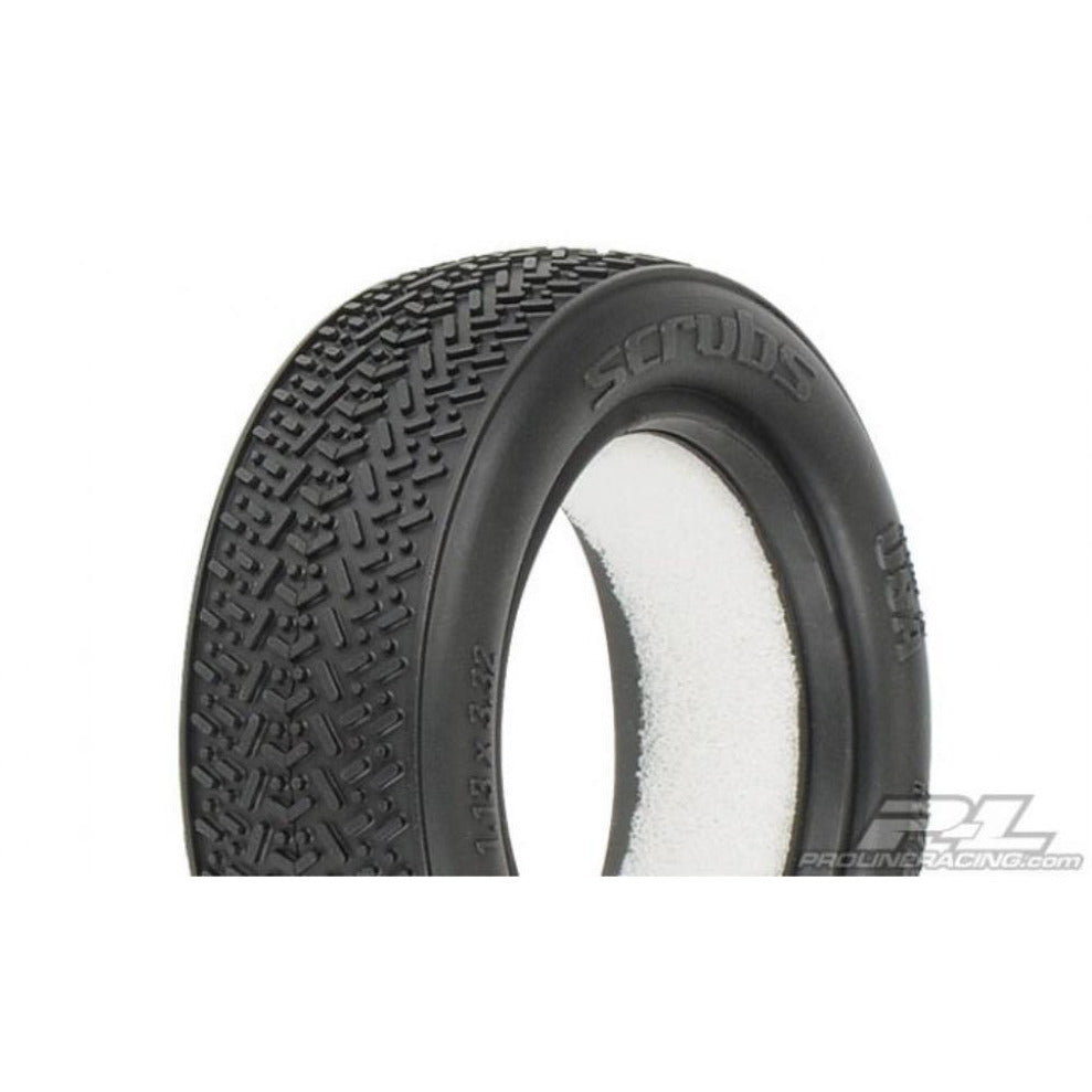 "PROLINE Scrubs 2.2"" 2WD M3 (Soft) Off-Road Buggy Front Tires (2)"