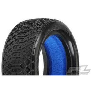 Electron 2.2? 4WD M4 (Super Soft) Off-Road Buggy Front Tires (2) (with closed cell foam) - Hearns Hobbies Melbourne - PROLINE