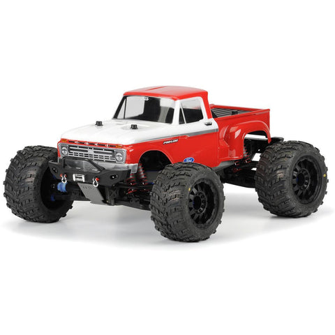 PROLINE 1966 Ford F-100 Clear Body for T/E/2.5-MAXX, T-MAX