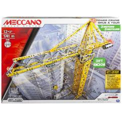 MECCANO ELITE SERIES - TOWER CRANE WITH 3 MOTORS