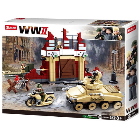 SLUBAN WWII Battle of Stalingrad 479pcs