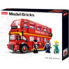 SLUBAN Model Bricks London Bus 394pcs