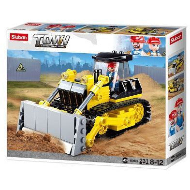SLUBAN Town Bulldozer 231pcs