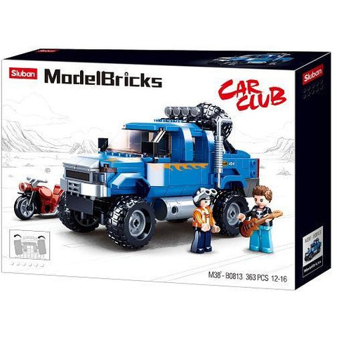 SLUBAN Model Bricks 4WD 365pcs