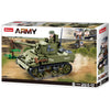 SLUBAN WWII M5 Light Tank 344pcs