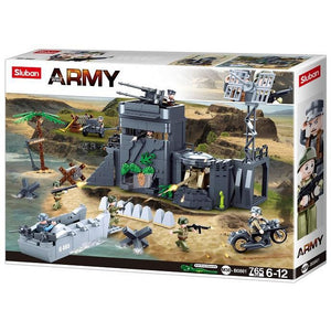 SLUBAN WWII The Atlantic Wall 765pcs