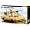 SLUBAN Model Bricks MB M1A2 V2 Abrams Main Battle Tank 781 Pcs
