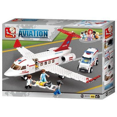 SLUBAN Aviation Air Ambulance 335pcs
