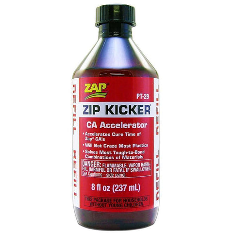 ZAP Zip Kicker Refill 8oz - Hearns Hobbies Melbourne - ZAP